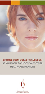 Choose your cosmetic surgeon